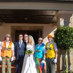 Hochzeit unseres Musikers Oliver Gehring am 07.04.2018